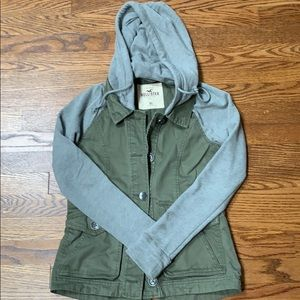 Hollister hooded jacket
